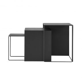 Cluster Tables Black by ferm Living