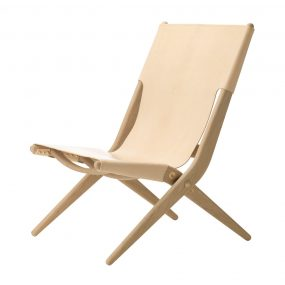 Saxe Lounge Chair Natural by Lassen