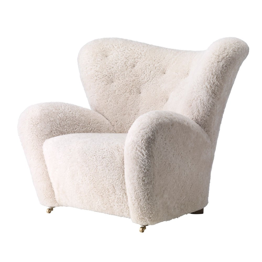 The Tired Man Easy Chair Sheepskin By Lassen
