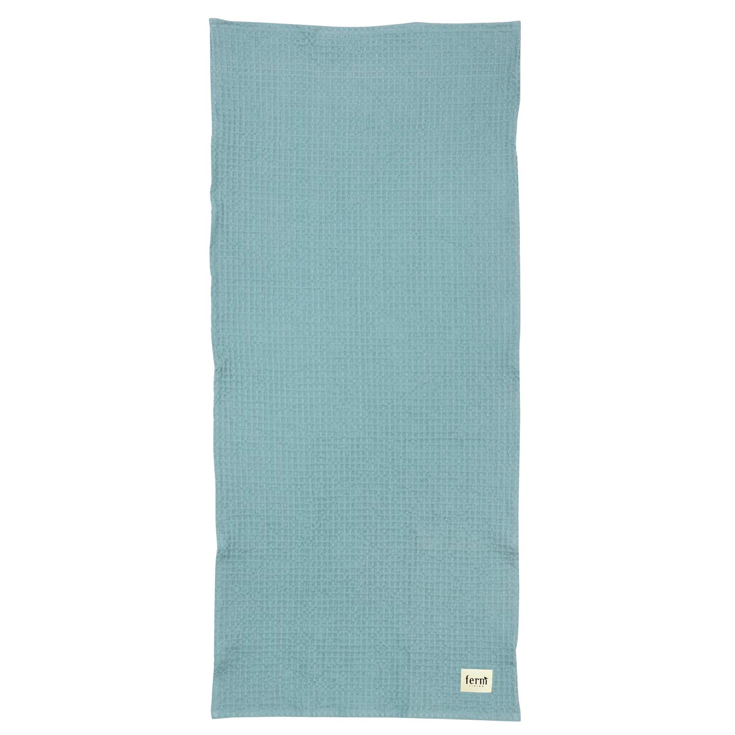 Wonderful Ferm Living Organic Cotton Bath Towel In Dusty Blue