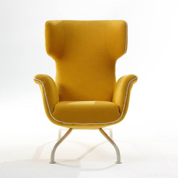 First Class Lounge Chair Solid Tube Foot