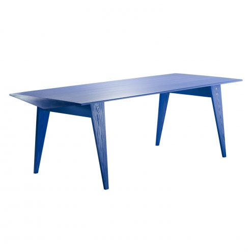 M36 Dining Table in Petrol Blue by TECTA