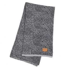 Maze Blanket (Grey) by ferm LIVING