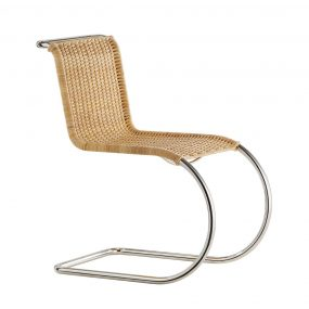 B42 Weissenhof Chair in natural cane wicker by Tecta