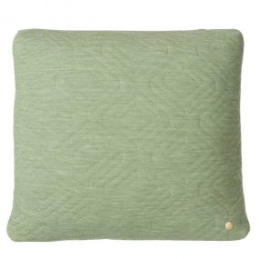 Quilt Green Cushion by ferm Living