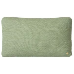 Quilt Green Cushion Rectangle by ferm Living