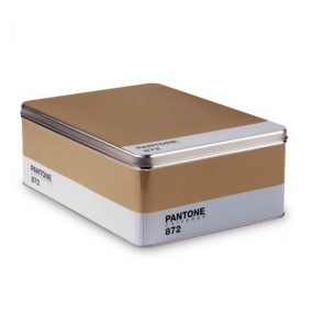 Pantone Box in Gold By Seletti