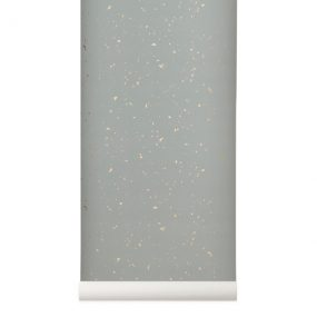 Confetti Wallpaper Grey by ferm Living