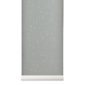 Confetti Wallpaper Grey by ferm Living