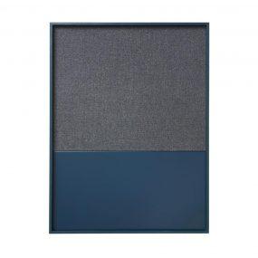 Frame Pinboard Blue, Bulletin Board, Magnet Board, ferm Living