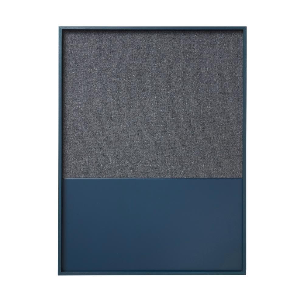 Frame pinboard blue modern intentions shop modern decor for Modern cork board