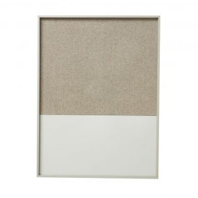 Frame Pinboard Grey, Bulletin Board, Magnet Board, ferm Living