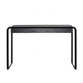 K2D Oblique Desk in Ash Black by Tecta