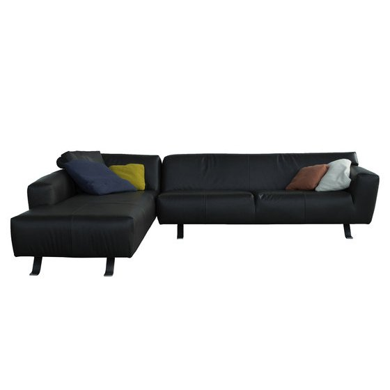 leather chaise lounge sofa sectional left ottoman bed melbourne
