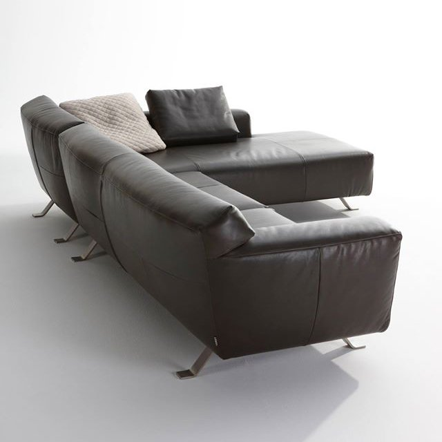 Santiago Sofa With Chaise Lounge Back View