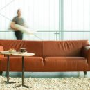 Santiago Sofa with Taboo Side Tables by LABEL VANDENBERG