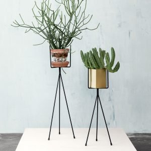 Plant Stands by ferm LIVING in black