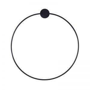 BLACK TOWEL HANGER by ferm LIVING