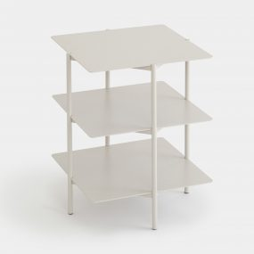 Tier Side Table in Grey by Umbra Shift