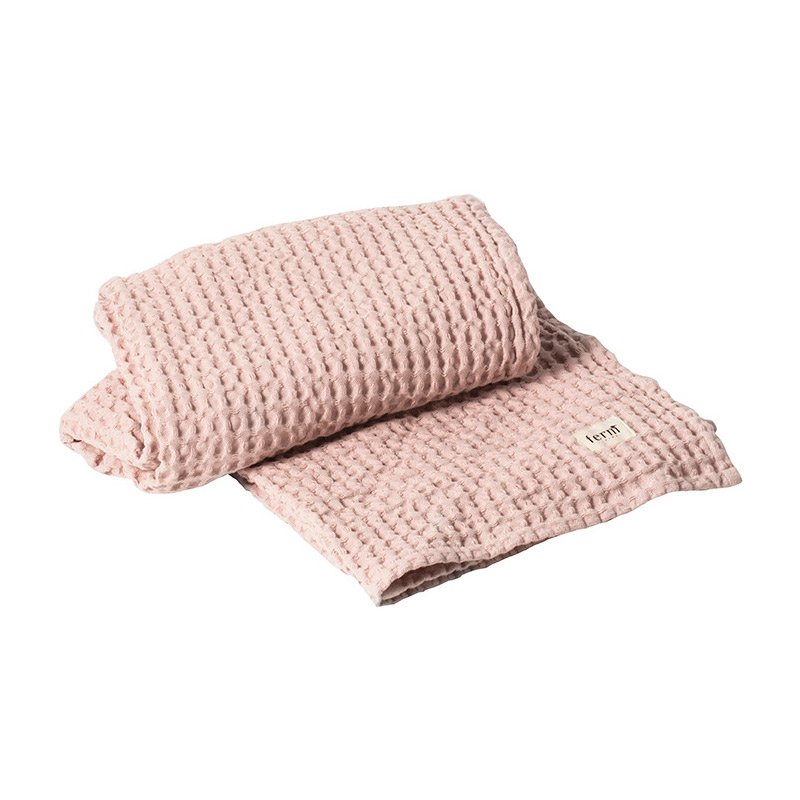 Organic Cotton Bath Towel (Rose) By Ferm LIVING