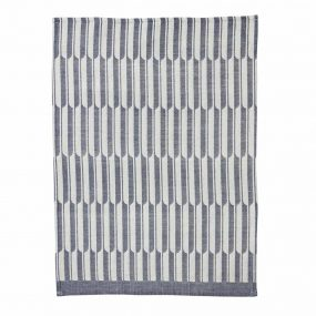 Arch Tea Towel Blue by ferm LIVING