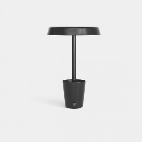 Cup Lamp in black by Umbra Shift