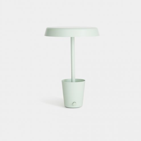 Cup Lamp in mint by Umbra Shift