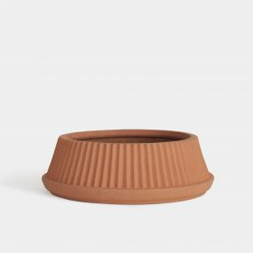 Pleated Dish Planter by Umbra Shift