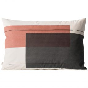 Color Block Cushion 1 (Large) side 2 by ferm LIVING