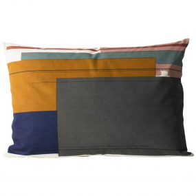 Color Block Cushion 2 (Large) side 1 by ferm LIVING