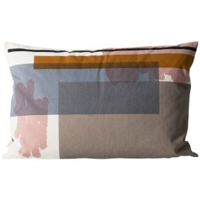 Color Block Cushion 3 (Large) side 2 by ferm LIVING