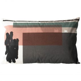 Color Block Cushion 4 (Large) side 1 by ferm LIVING