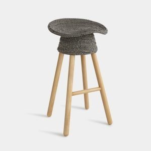 Coiled Counter Stool in Grey by Umbra Shift