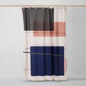 COLOUR BLOCK SHOWER CURTAIN by ferm LIVING