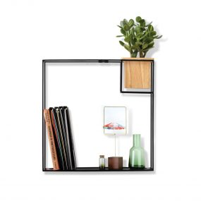 CUBIST LARGE SHELF (Black) by Umbra