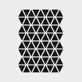Mini Triangles Wallsticker by ferm LIVING KIDS