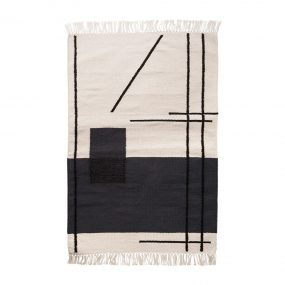 Trace Mat (Off-White) by ferm LIVING