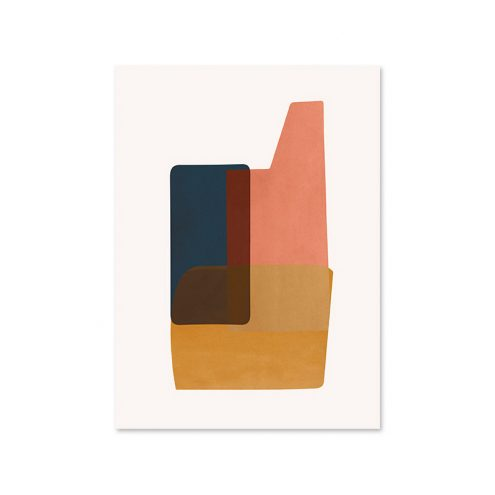 Abstraction 2 Poster Designed by Trine Andersen | ferm LIVING