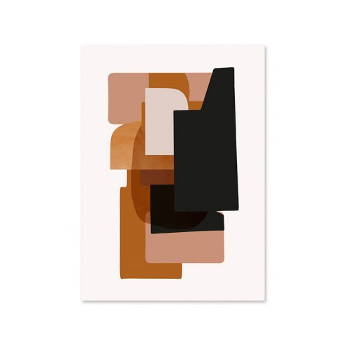 Abstraction 3 Poster Designed by Trine Andersen   ferm Living