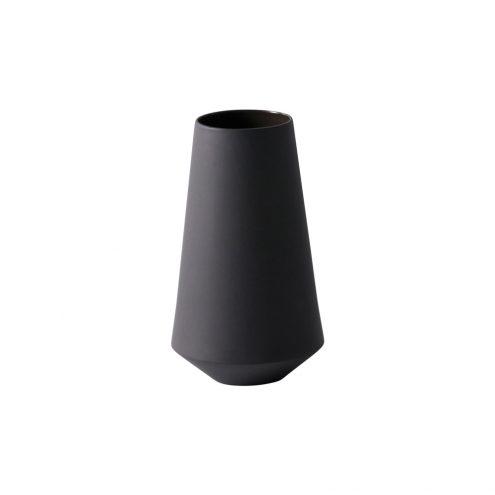 Sculpt Vase Well (Dark Grey) Designed by Trine Andersen | ferm LIVING