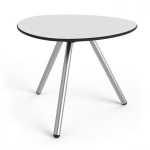 Little Low a-Lowha (Stainless Steel Base) Side Table Designed by Rogier Waaijer | Lonc
