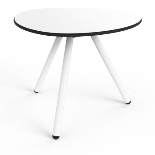 Little Low a-Lowha (White Base) Side Table Designed by Rogier Waaijer | Lonc