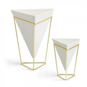 TRIGG VASE (WHITE) Designed by Moe Takemura | Umbra