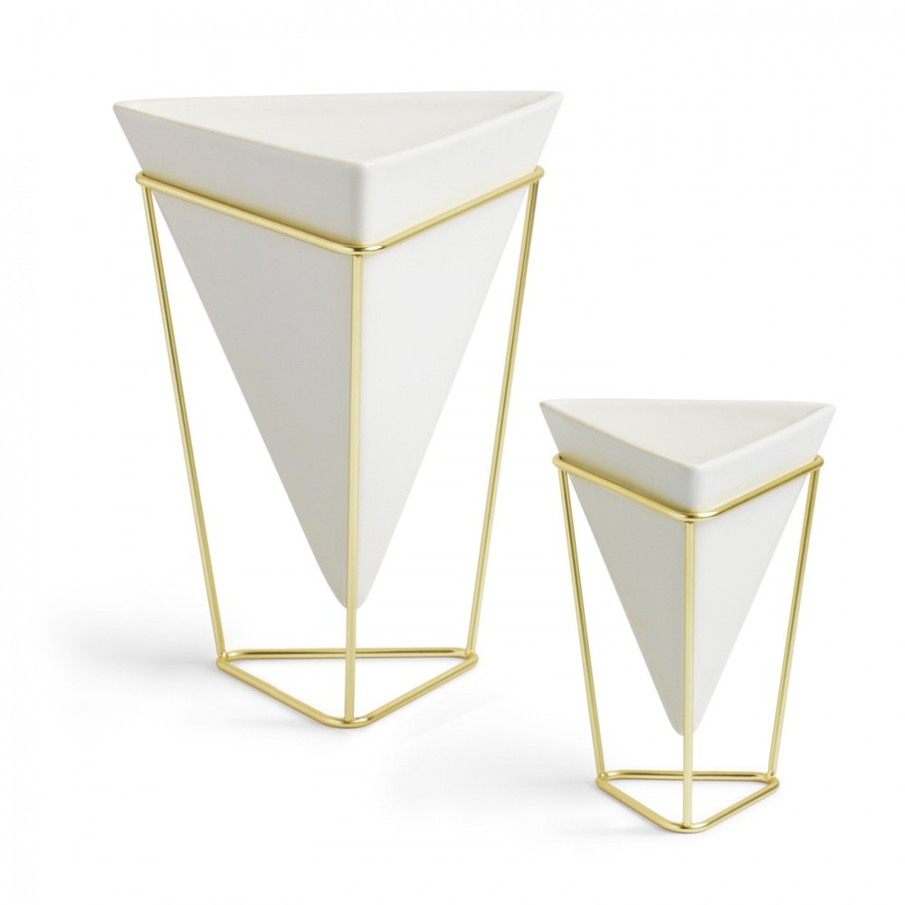 Trigg vase white modern intentions shop home decor trigg vase white designed by moe takemura umbra reviewsmspy