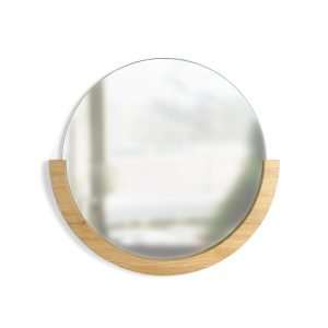 Mira Mirror (Natural) Designed by Lauren Reed  |  Umbra