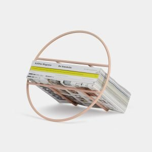 Hoop Magazine Rack (Pink) Designed by Umbra Studio | Umbra Shift