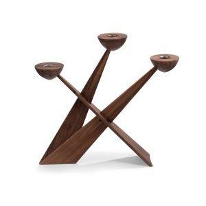 Caravel Candlestick (Walnut) Designed byTonn-P|Spring Copenhagen