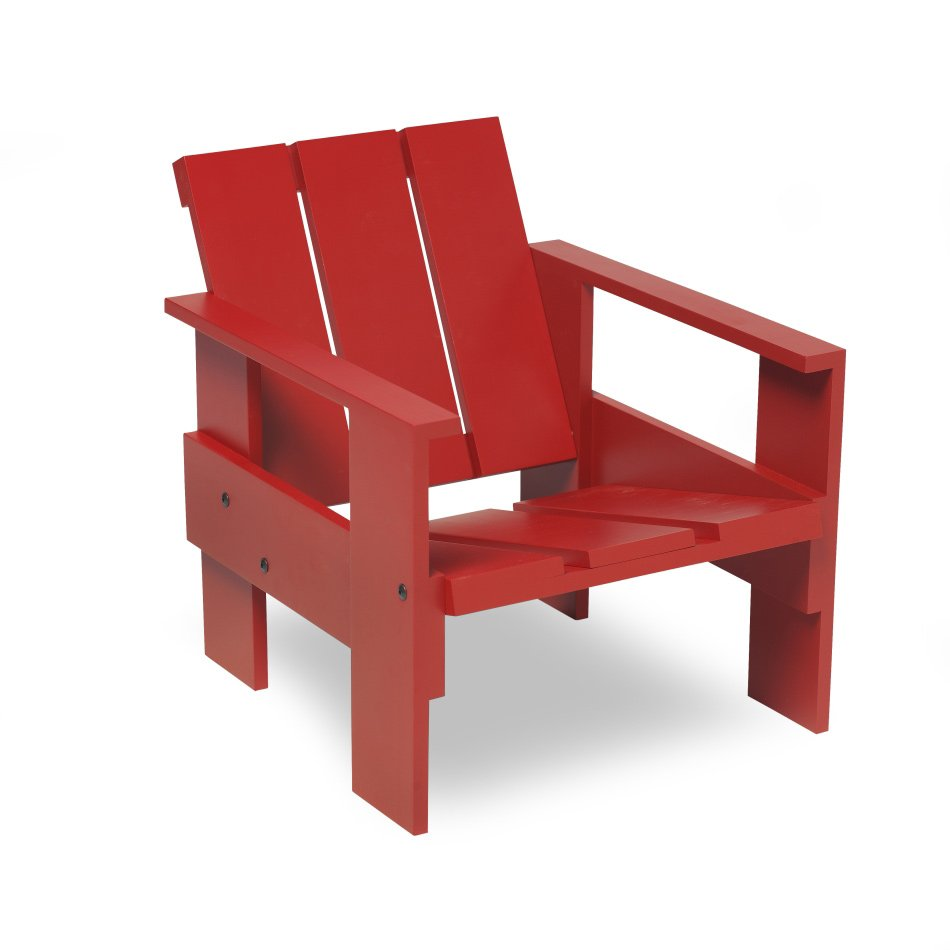 Crate Chair Junior Red