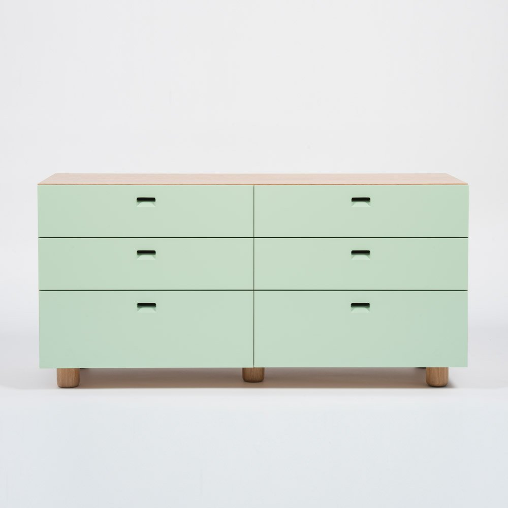 Satellite Dresser 53 L X 26 H Designed By Edward Barber